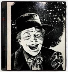 Inktober 2017 #8 - The Joker by B3NN3TT