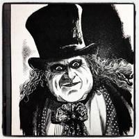 Inktober 2017 #9 - The Penguin by B3NN3TT