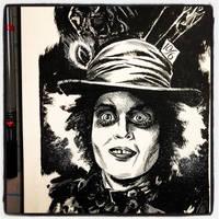 Inktober 2017 #25 - The Mad Hatter by B3NN3TT