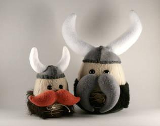 Vignir the Viking Mushie by Saint-Angel