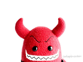 Stuffed Cute Devil Plushie, Plushoween  by Saint-Angel