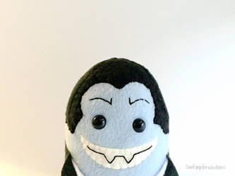 Stuffed Vampire Plushie, Plushoween by Saint-Angel