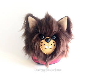 Stuffed Werewolf Plushie, Plushoween  by Saint-Angel