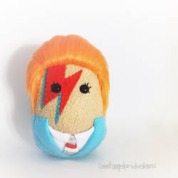 Ziggy Stardust Plushie by Saint-Angel