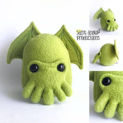 Handmade Cthulhu Plushie by Saint-Angel