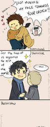 SuperWhoLock Crossover Strip by ChiyoPurr