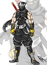 Ryu Hayabusa by Tentionmaru