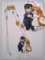 Endymion and Serenity Necklace by DarkettinaMarienne