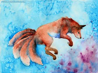 Magical fox by FuzzyMaro