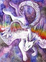 Dragon in stars by FuzzyMaro