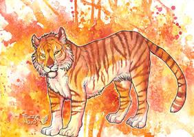 In flames by FuzzyMaro