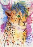 Watercolor Teyka by FuzzyMaro