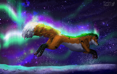 Fox fires by FuzzyMaro