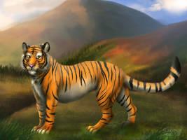 Tiger traveler by FuzzyMaro