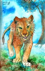 Little lion by FuzzyMaro