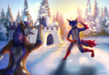 Winter fun by FuzzyMaro