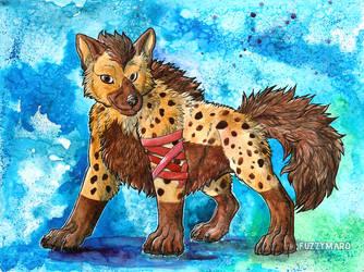 Proud hyena by FuzzyMaro