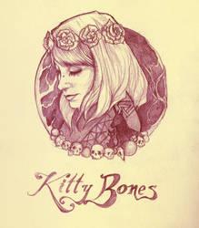Kitty Bones by MloyangDrawlo
