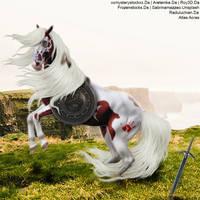 Warrior Horse by AtlasAcres