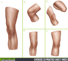 Knees Exercise by cdesign-art