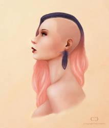 Stylized Portrait by cdesign-art
