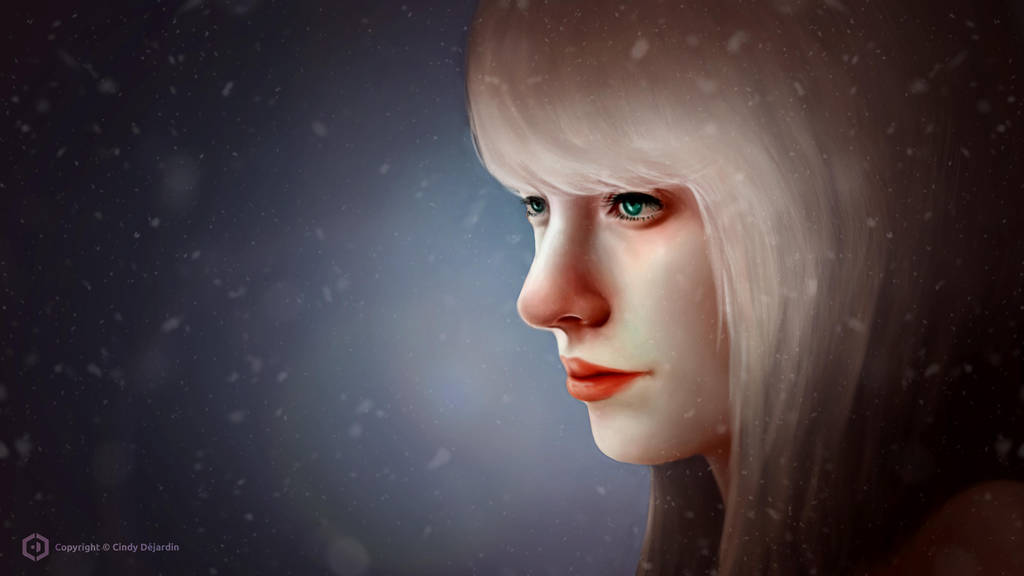 Winter Portrait by cdesign-art