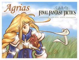 Agrias, Final Fantasy Tactics by lady-mildred