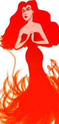 The red priestess by salma17