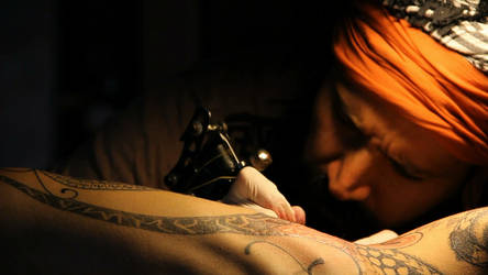 Spiritual Tattoo 2 by cvied