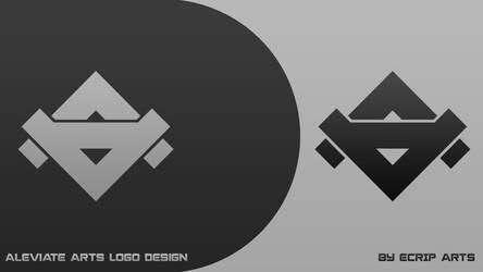 Aleviate Arts logo by EcripArts