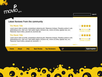 Webdesign - Movio by Art-Acolyte