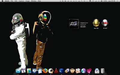 Daft Punkness - desktop by Art-Acolyte