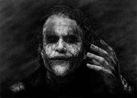 The Joker by enigmatic-freak