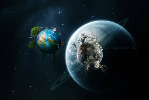 Worlds Apart by debNise