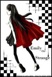 Emily the Strange by ancientzoidian