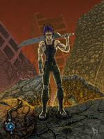 Swordman of the Apocalypse - 2011 by al-dy