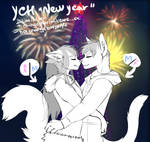 New Year! [YCH] - feliness [OPEN] by RemixWesker