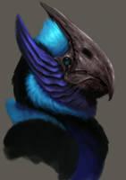 Alien Bird 02 by ballisticCow
