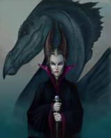 Maleficent by ballisticCow