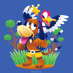 Barko-Duckzooie [T-Shirt] by Versiris