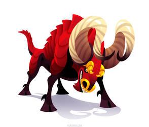 The Bull Dragon by Versiris