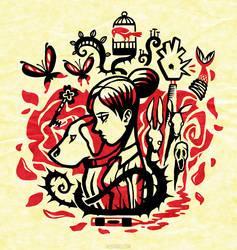 Princess of the Rose [T-shirt] by Versiris