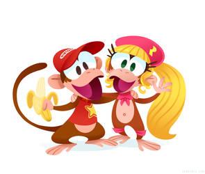 Monkey Buddies by Versiris