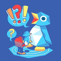 Penguin Panic by Versiris
