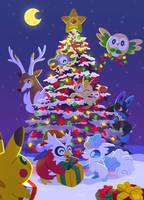 ~Merry Pokemas~ by Versiris