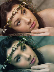 Spring Fairy Retouch by pacoelaguadillano