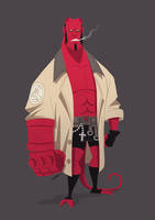 HELLBOY by GrievousGeneral