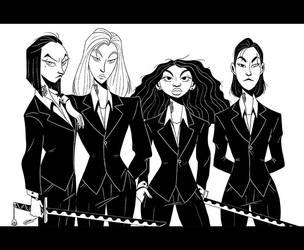 YAKUZA GIRLS by GrievousGeneral