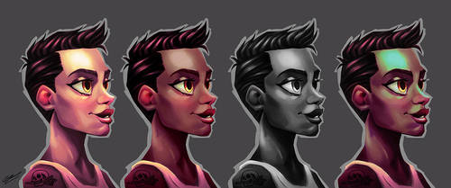 PROFIL GIRL COLOR TEST by GrievousGeneral