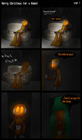 Merry Christmas For A Robot Page 1 by ghxstlly